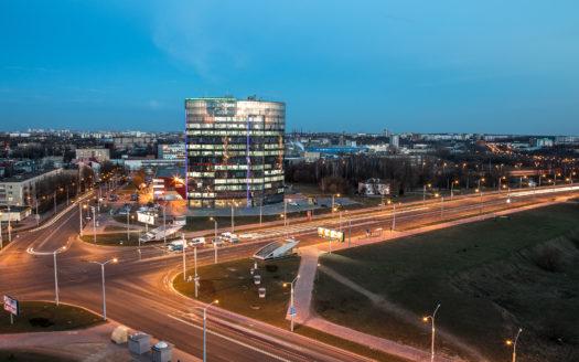 фото панорамное аренда офисов в Минске в бизнес-центре премиум класса