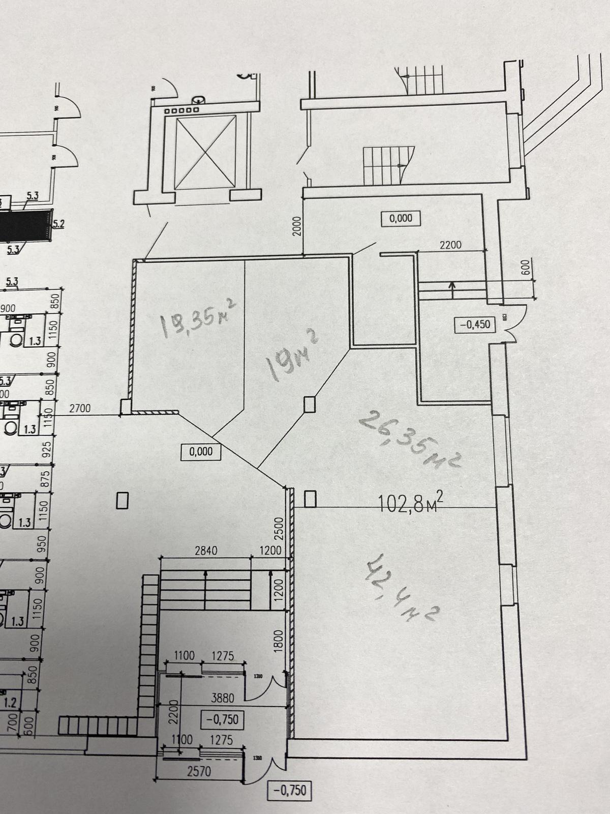 1 этаж, прикассовая зона